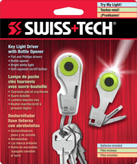 Мультиинструмент SwissTech Key Light Driver with Bottle Opener-1