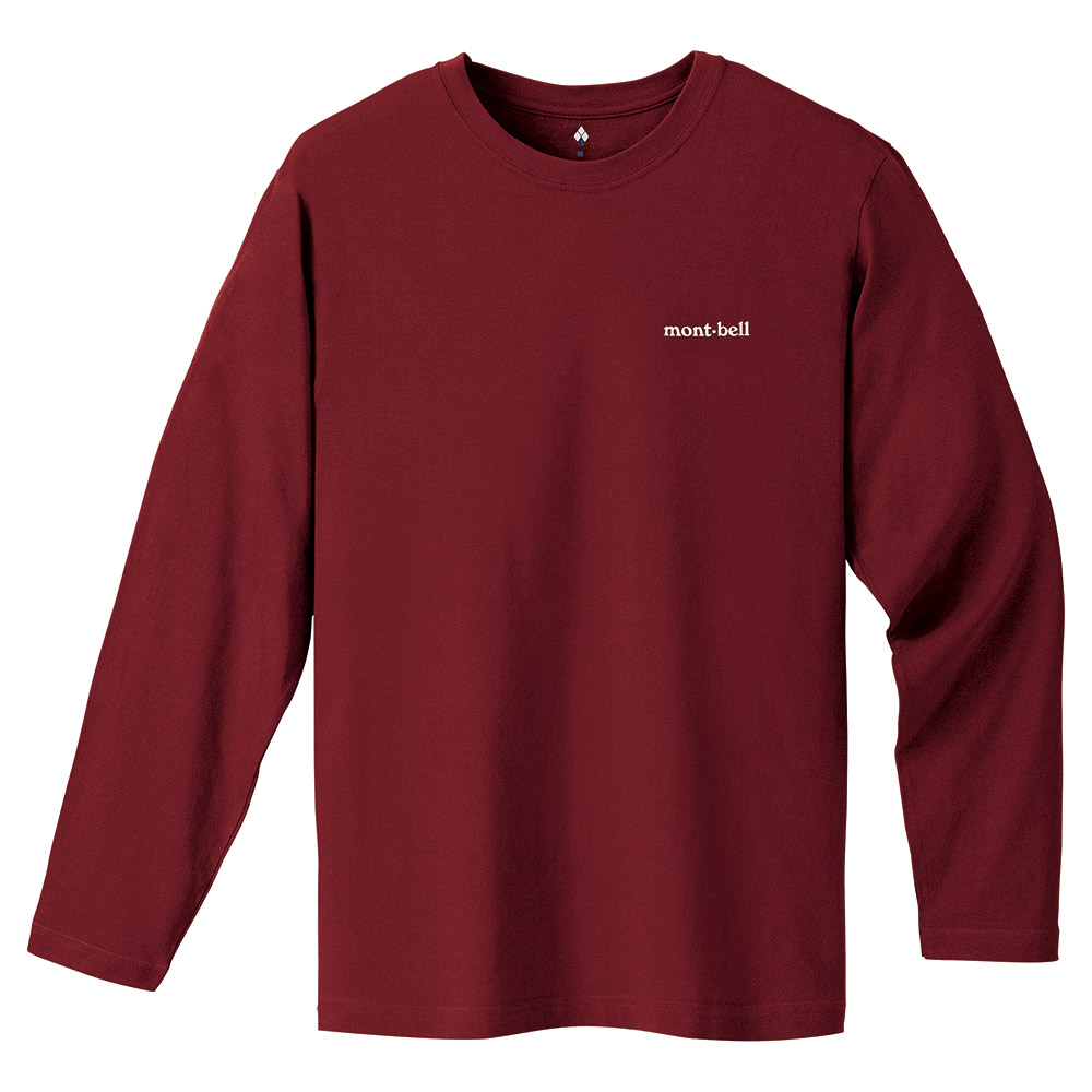 Футболка Montbell Cotton Long Sleeve One Point Logo