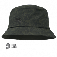 Панама BUFF Travel Bucket Checkboard Moss Green