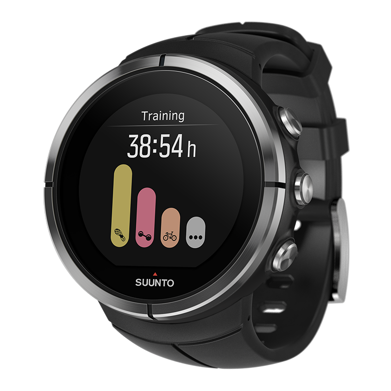 Часы SUUNTO SPARTAN ULTRA BLACK (HR)-4
