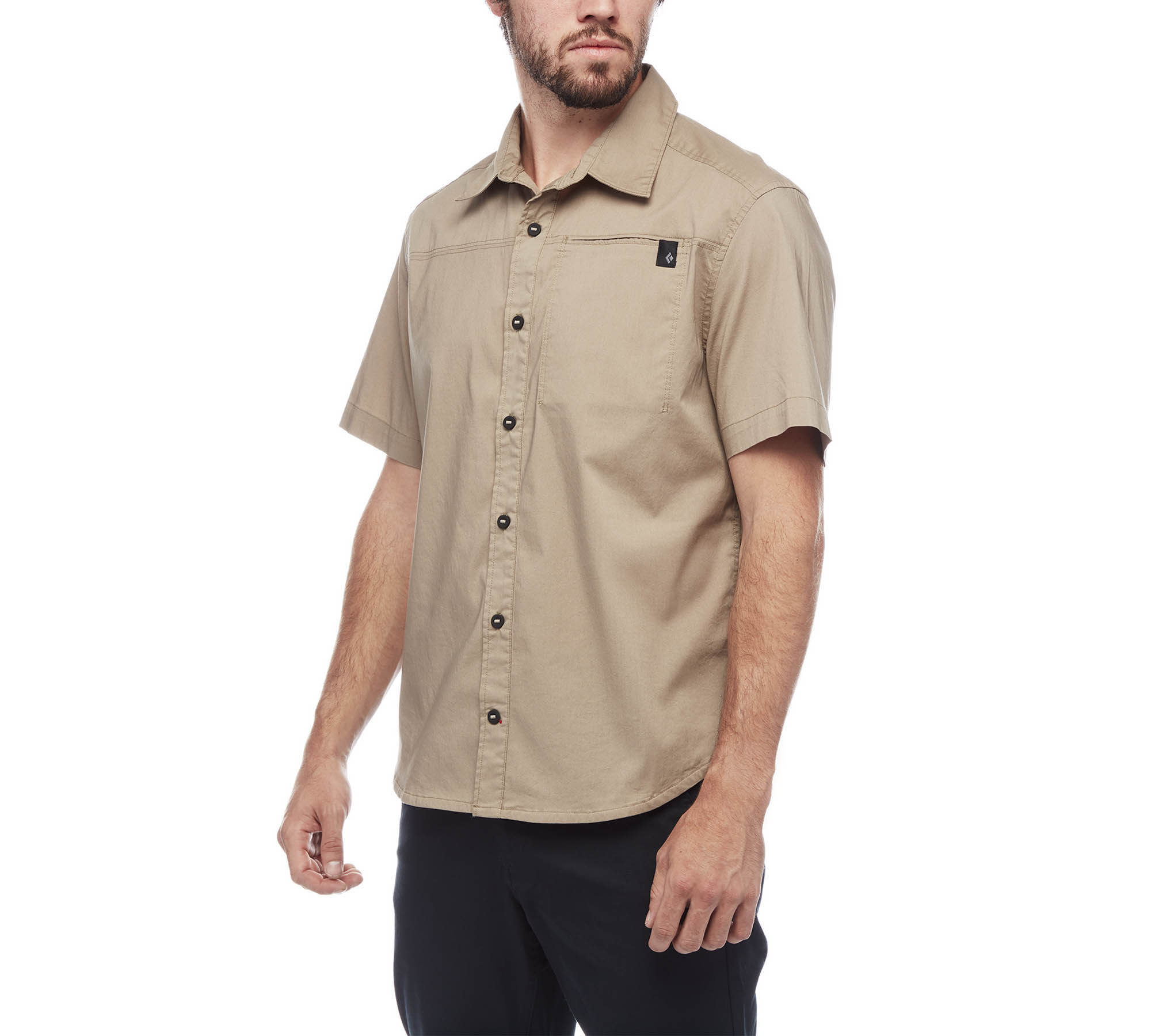 Рубашка BLACK DIAMOND Short Sleeve Stretch Operator-1