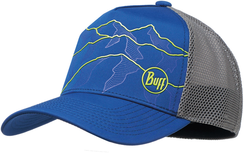 Кепка BUFF Trucker Tech Cap Solid Cape Blue