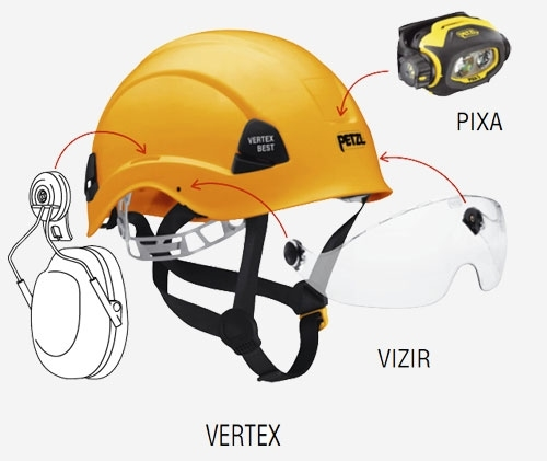 Каска PETZL VERTEX BEST-1