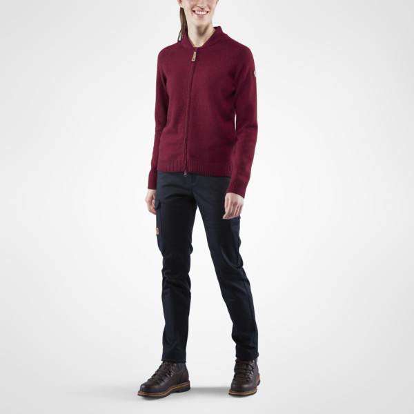 Кофта FJALL RAVEN Ovik Re-Wool Zip