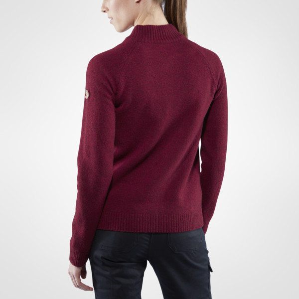 Кофта FJALL RAVEN Ovik Re-Wool Zip-1