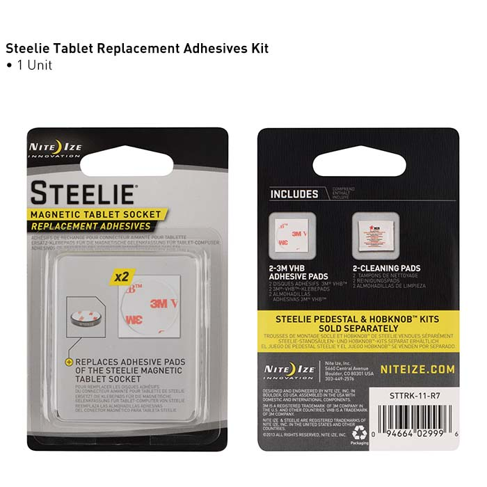 Запасные стикеры Steelie Magnetic Tablet Socket Replacement Adhesives