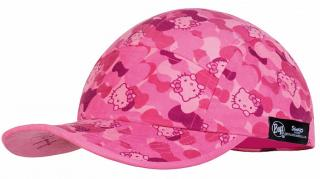 Детская кепка BUFF 5 Panels Kids Hello Kitty Camo Pink