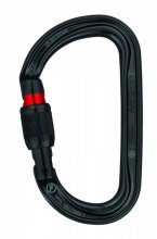 Карабин PETZL Am'D Screw Lock black