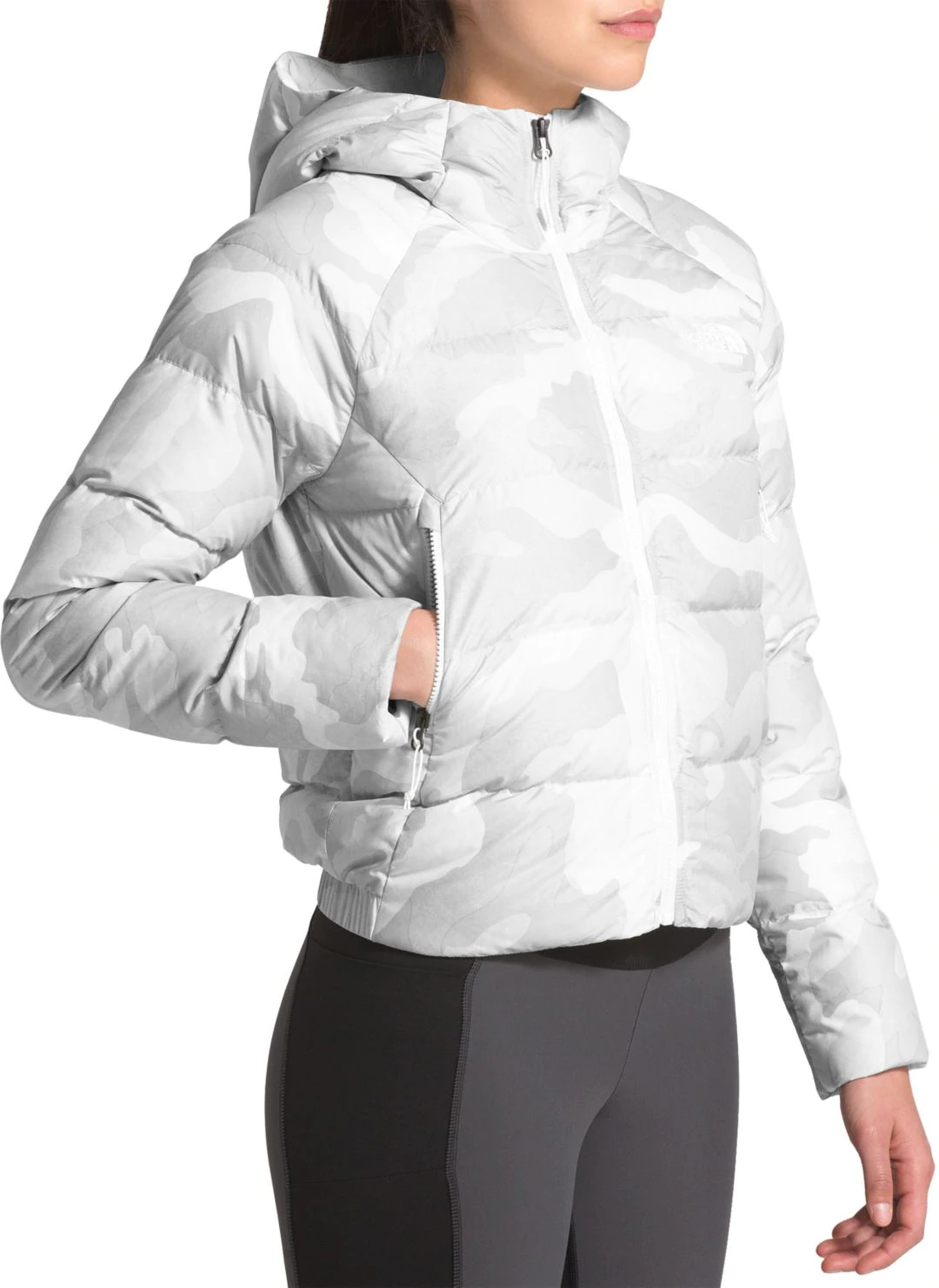 Куртка The North Face CROP 550 DOWN HOOD-2