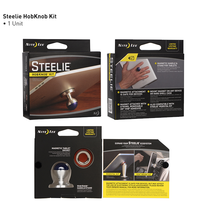 Держатель Steelie HobKnob Kit for Tablets-3