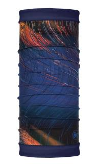 Бандана BUFF REVERSIBLE POLAR IONOSPHERE NIGHT BLUE